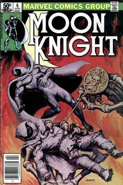 Image result for Moon Knight Volume 1, issue # 6