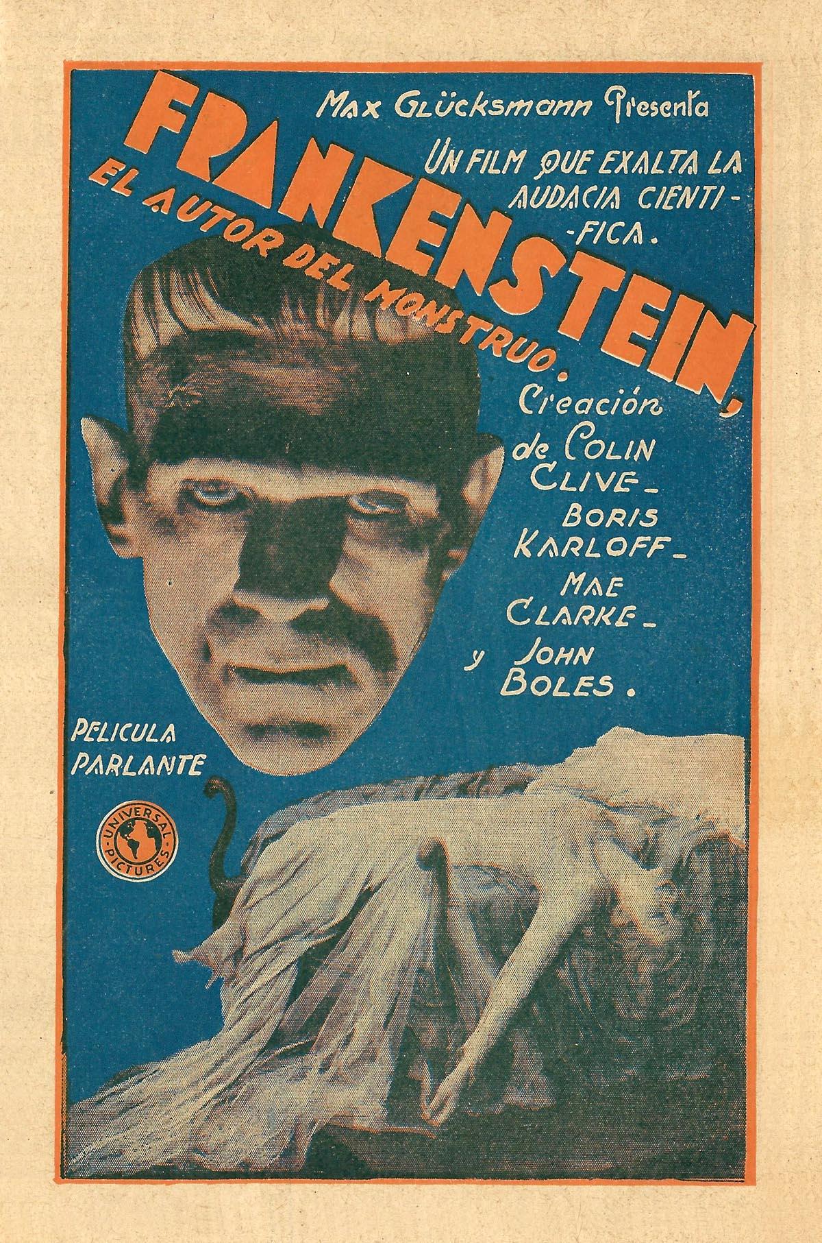 Monday Word Frankenstein (1931) �...