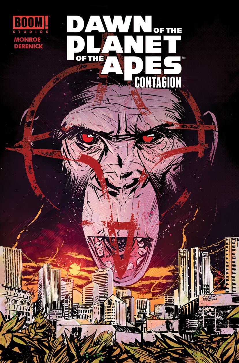 Dawn of the Planet of the Apes Contagion