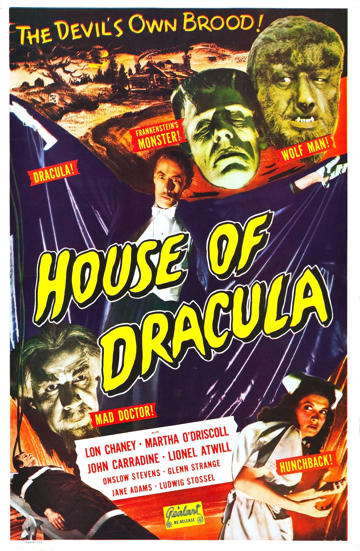 House of Dracula (1945) u2013 The Visuals u2013 The Telltale Mind
