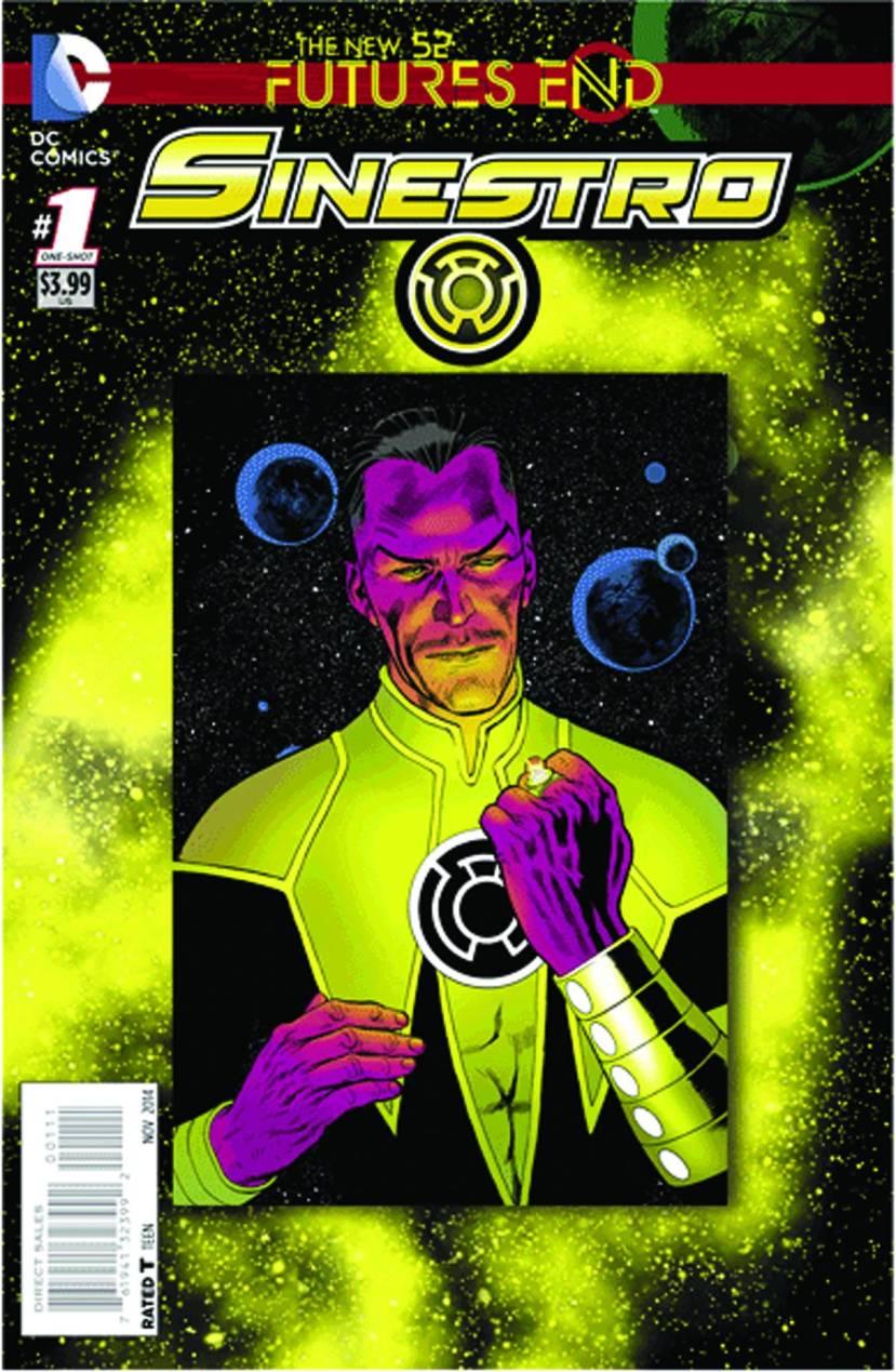 Sinestro Futures End #1