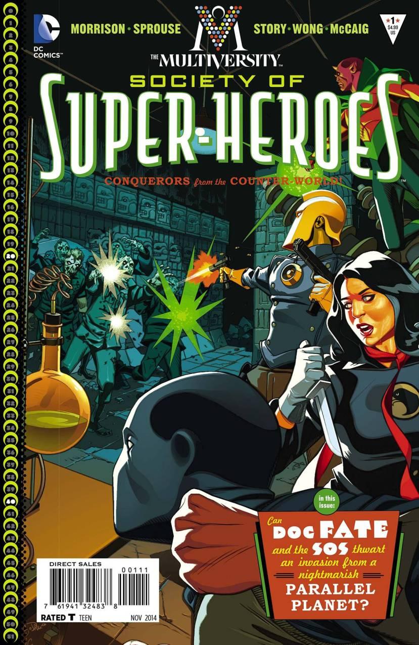 The Multiversity Society of Superheroes #1