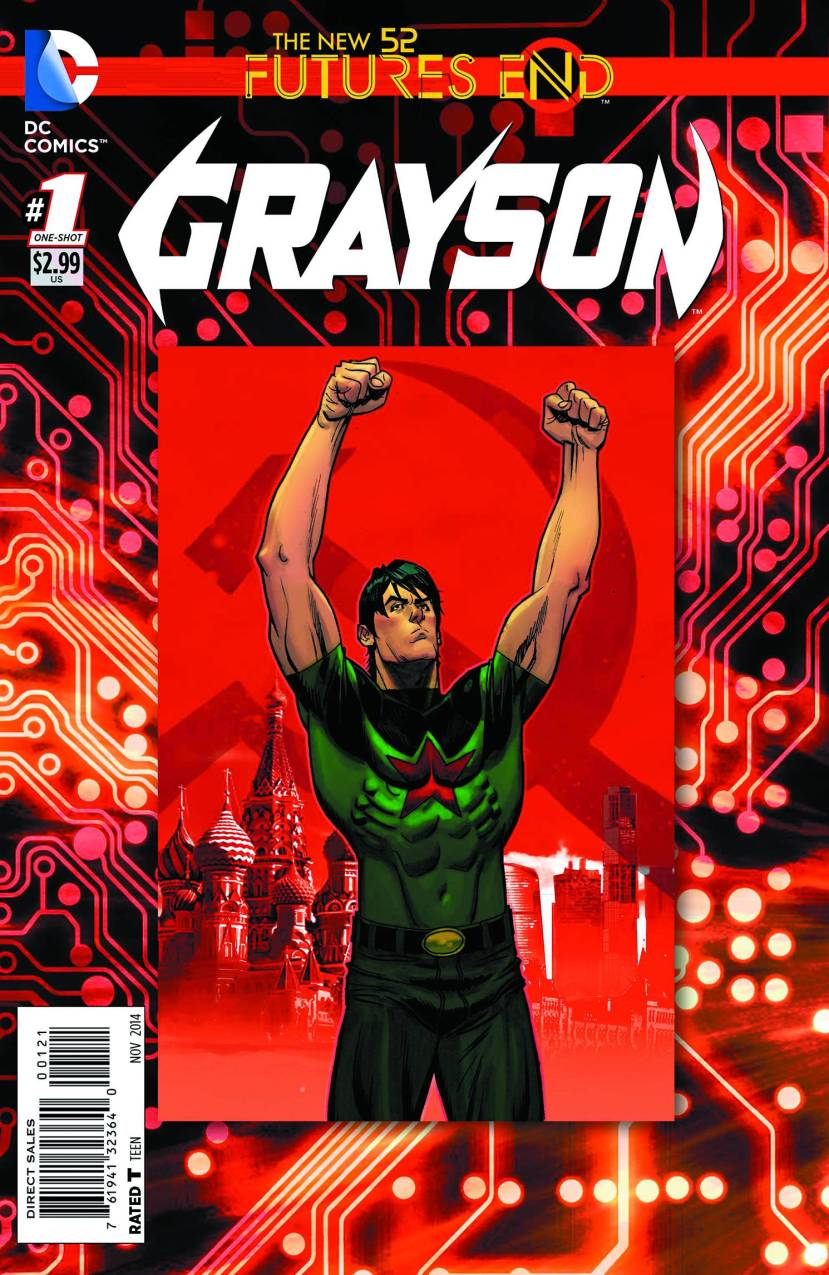 The New 52 Futures End Grayson #1