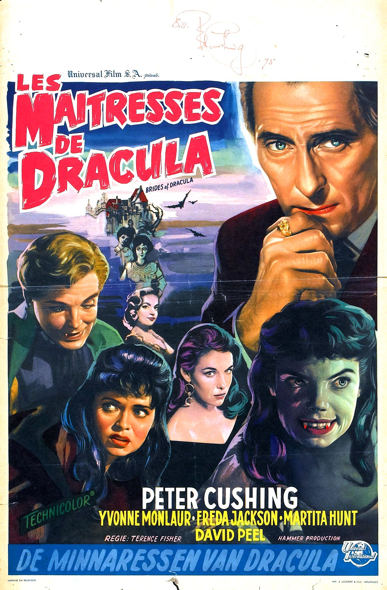 the brides of dracula 1960 � the visuals � the telltale mind