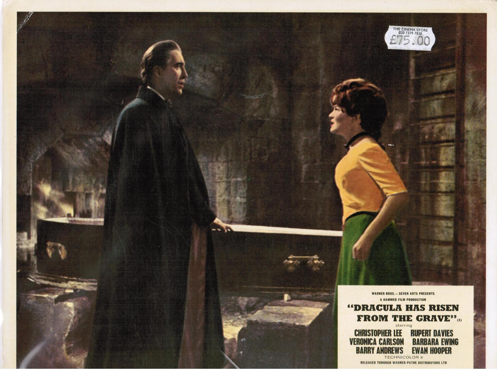 Dracula Has Risen From...