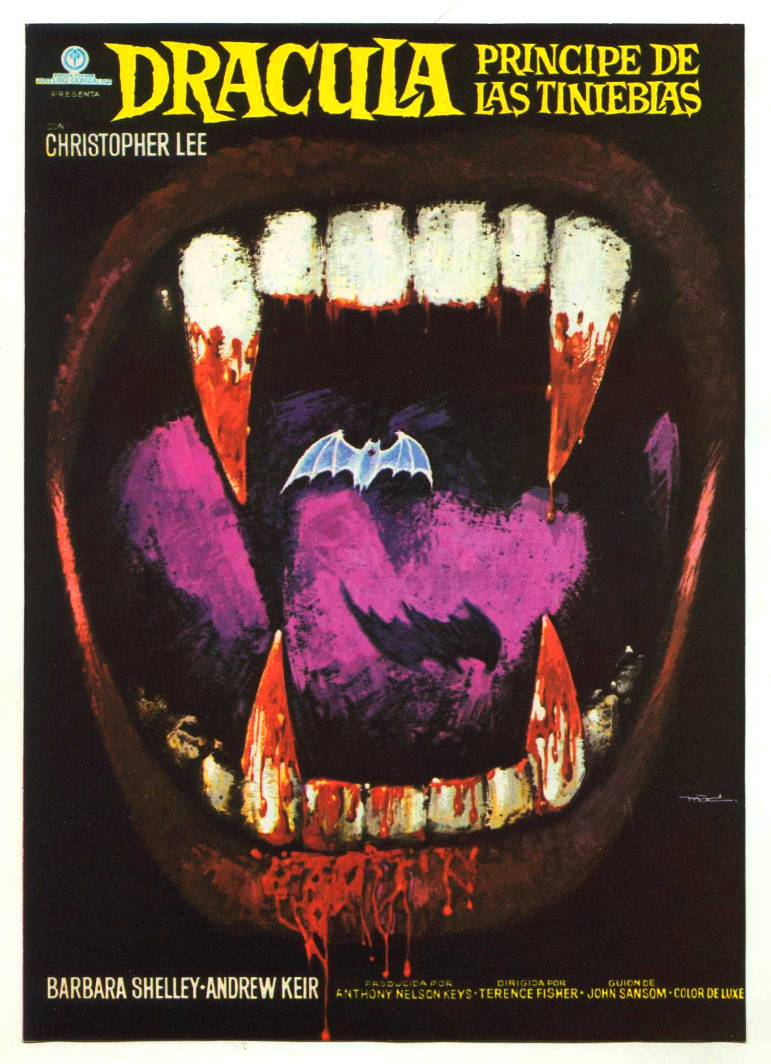 Dracula, Prince of Darkness (1966) – The Visuals – The ...