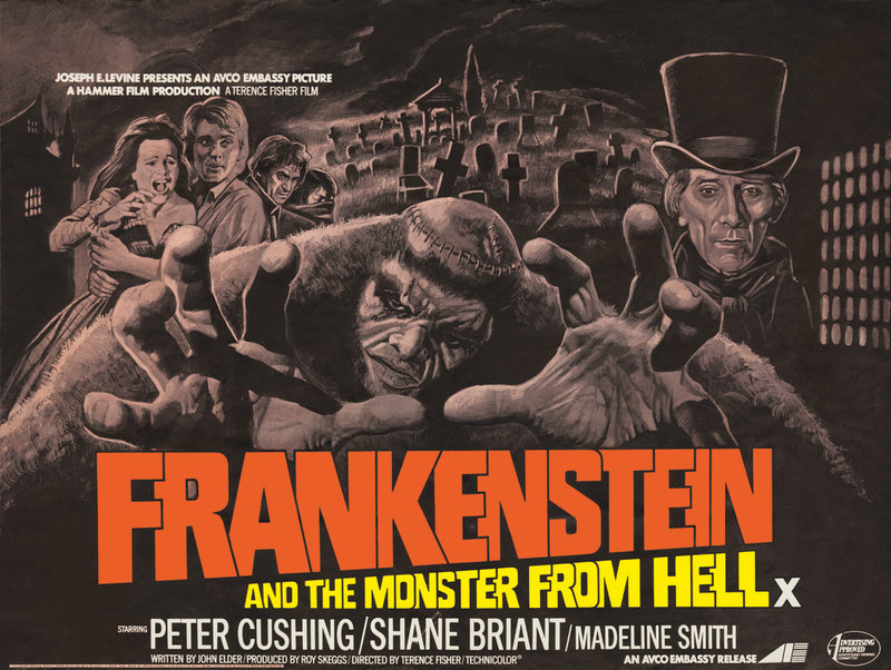 Frankenstein and the Monster from Hell1