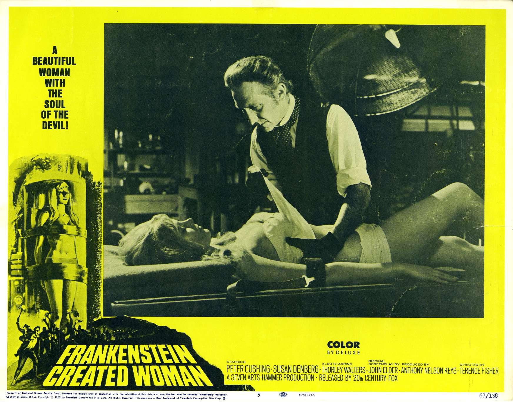 Frankenstein Created Woman Poster Frankenstein Created W...