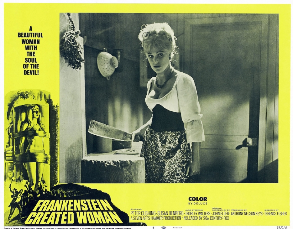 Frankenstein Created Woman (1967) – The Visuals – The ...