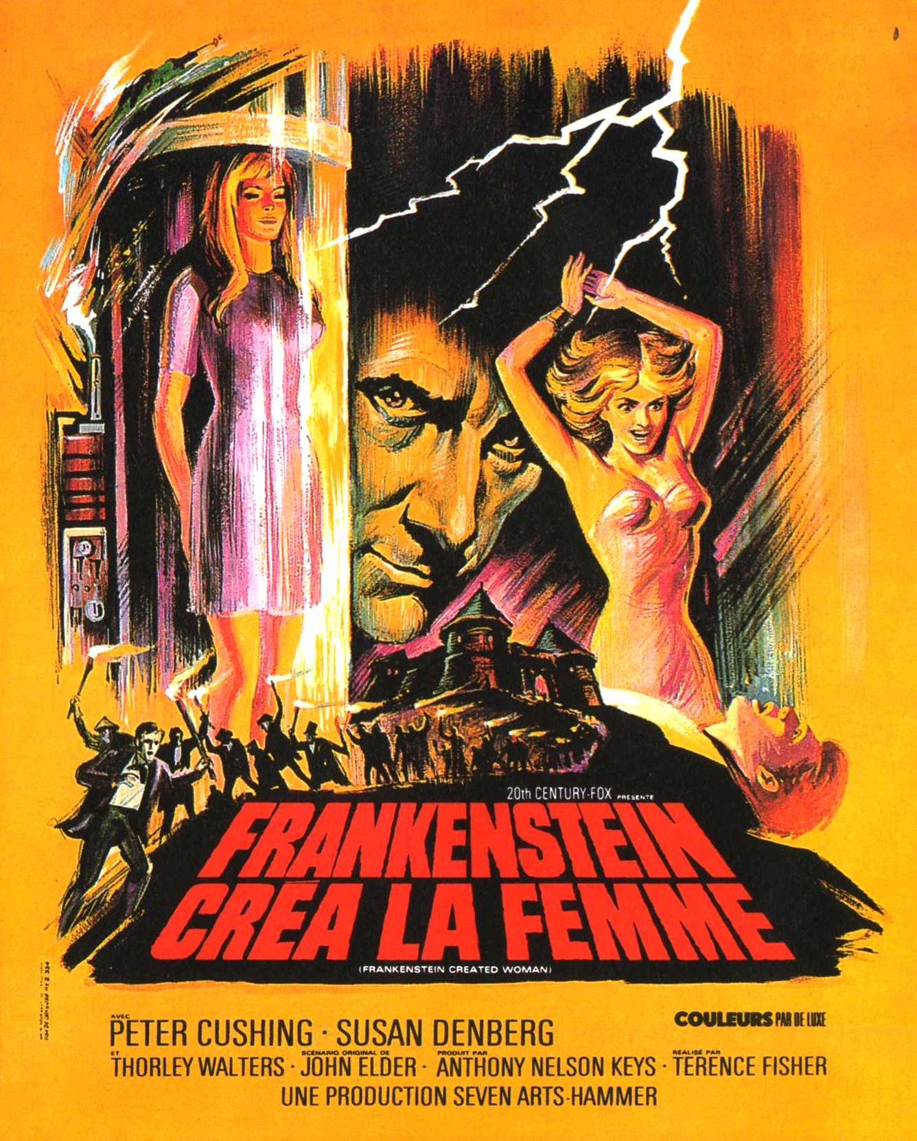 frankenstein created woman poster 05Frankenstein Created Woman Poster
