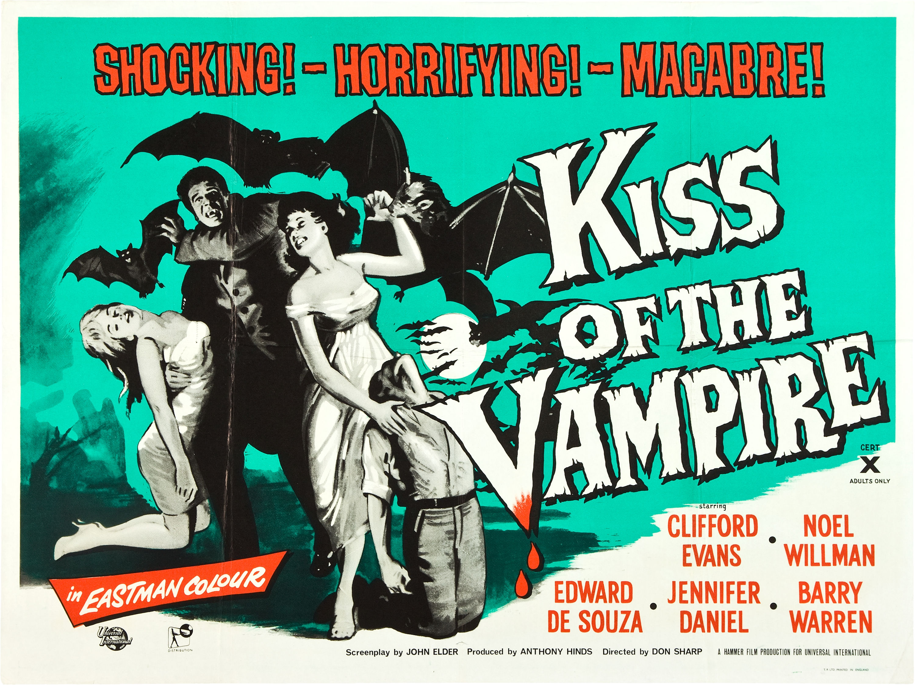 Nothing Quite Like Theu2026 u2013 Kiss of the Vampire (1963) u2013 The ...