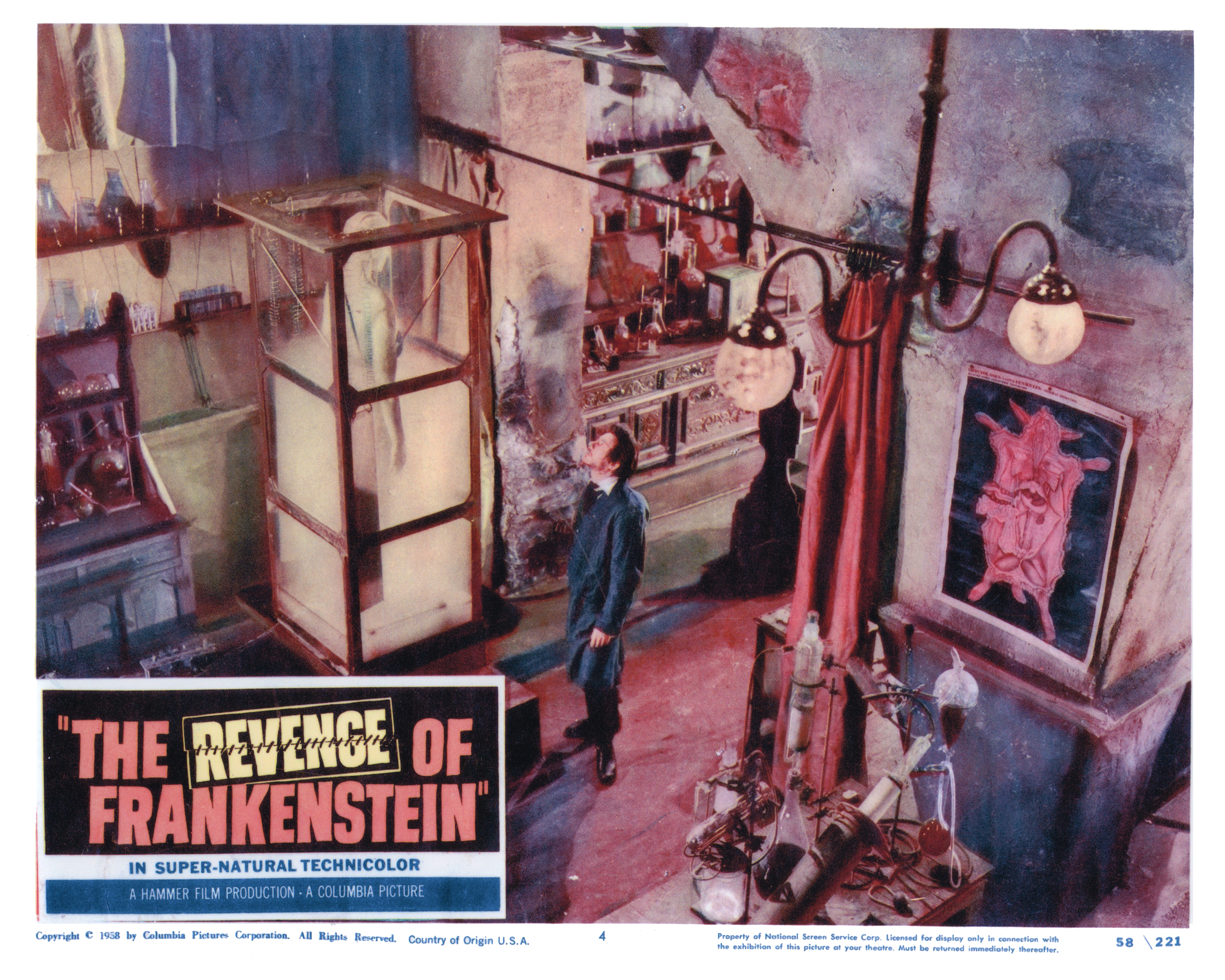 vengeance and revenge of frankenstein The revenge of frankenstein  his pupil seeks knowledge, but frankenstein desires vengeance against all those who have tried to stop his terrifying work.