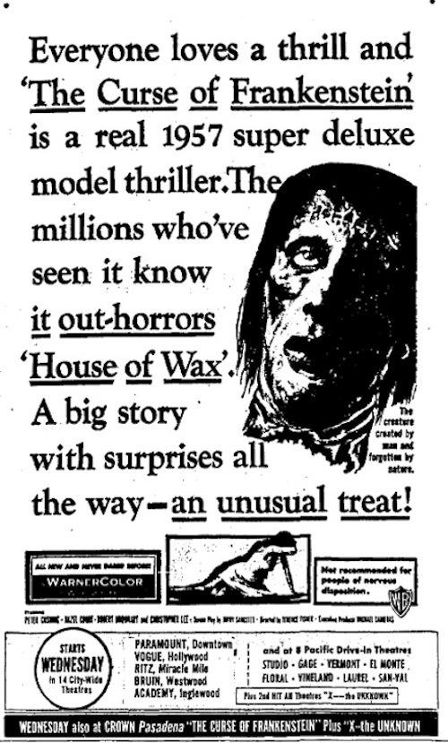 The Curse of Frankenstein38