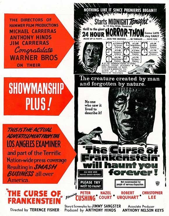 The Curse of Frankenstein56