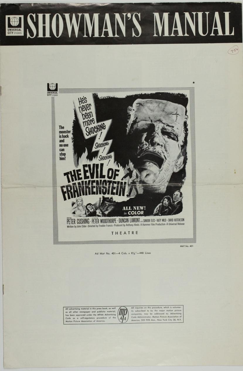 The Evil of Frankenstein22