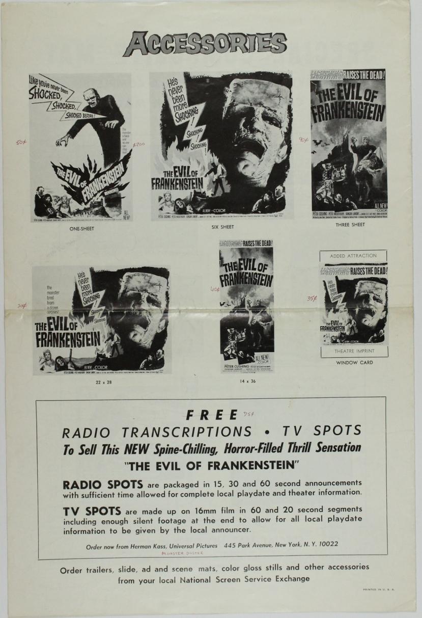 The Evil of Frankenstein29