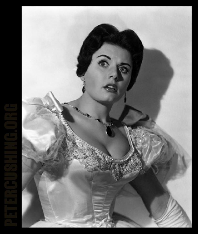 EUNICE GAYSON 'THE REVENGE OF FRANKENSTEIN' HAMMER FILMS 1958 PETERCUSHING.ORG