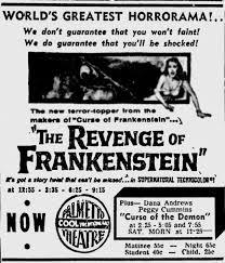 the revenge of frankenstein13