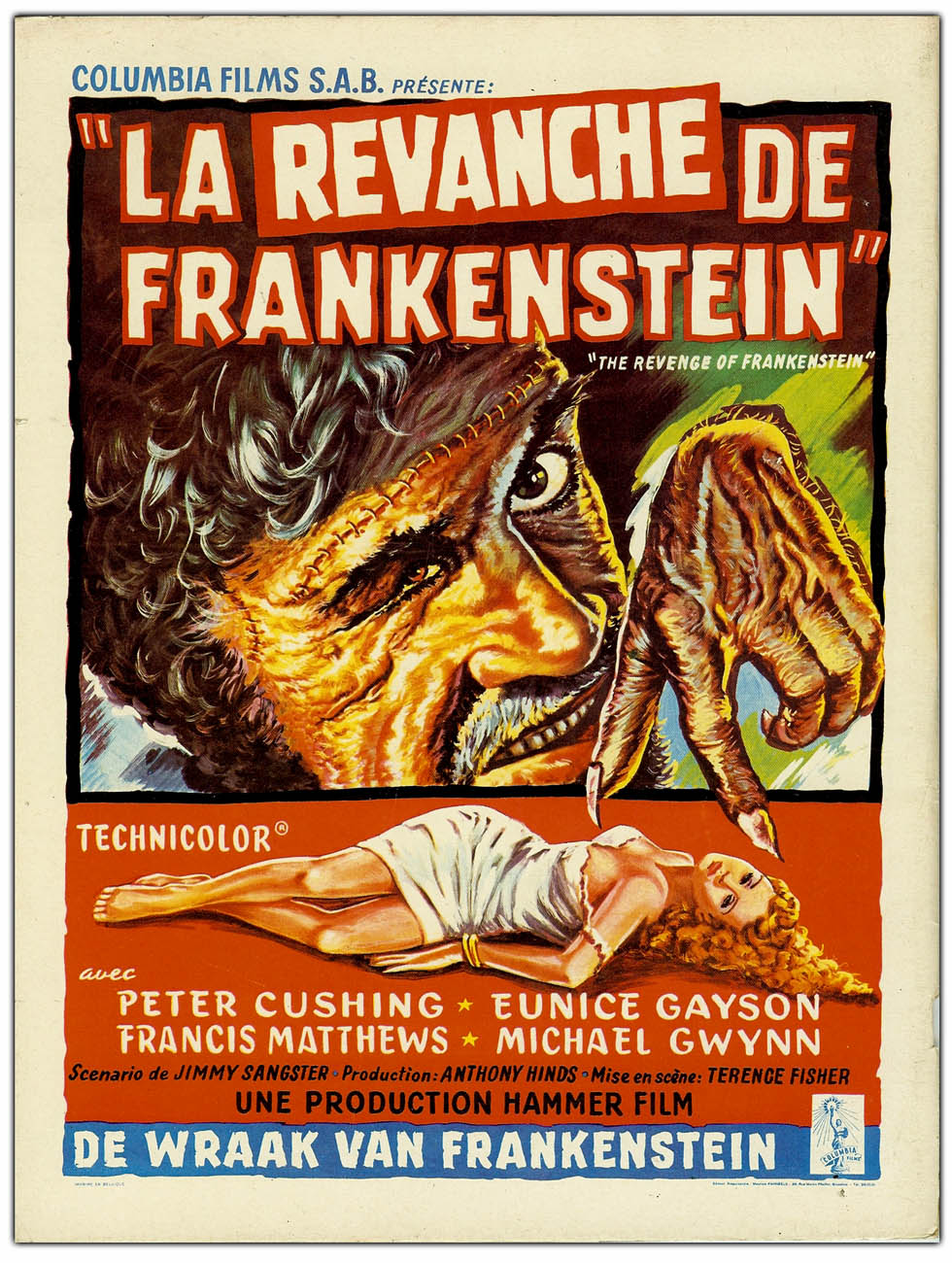the theme of frankenstein revenge Theme is at the heart of all  hamlet, for instance, deals with the themes of death, revenge  the themes of the novel frankenstein by mary shelley are that.