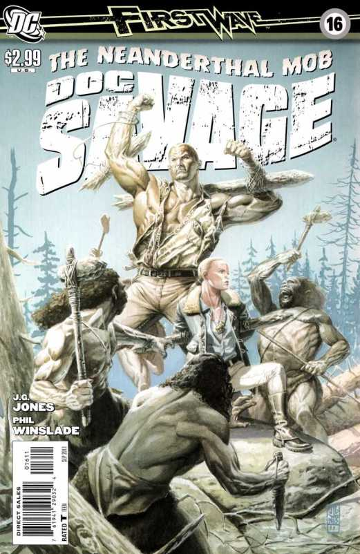 Doc Savage #16 (2010, DC)