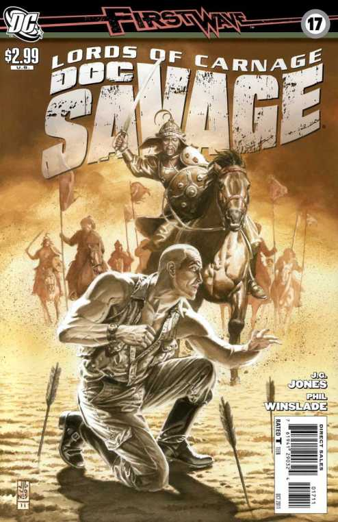 Doc Savage #17 (2010, DC)