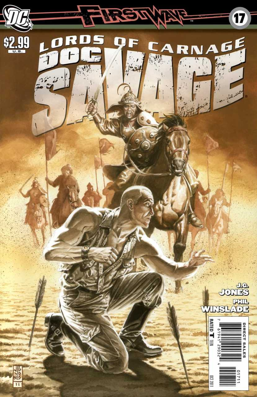 Doc Savage #17 (2010, DC)
