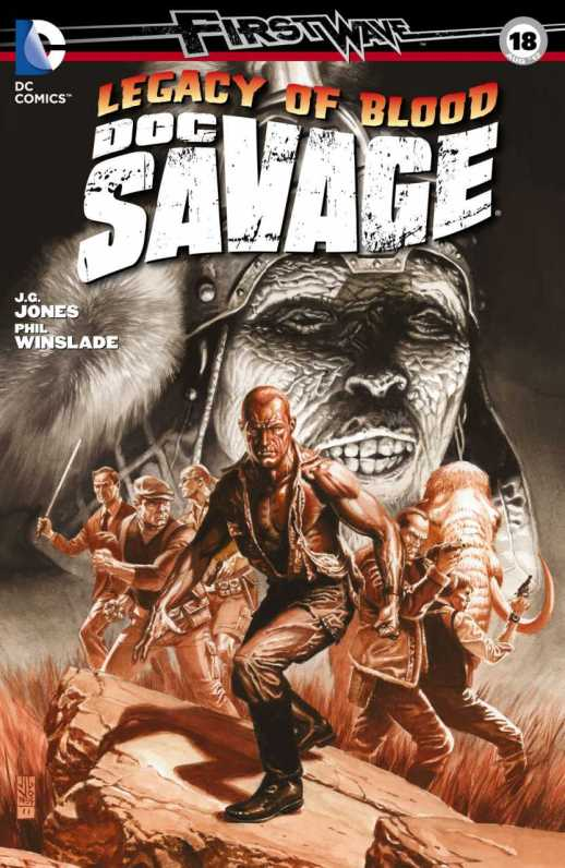 Doc Savage #18 (2010, DC)
