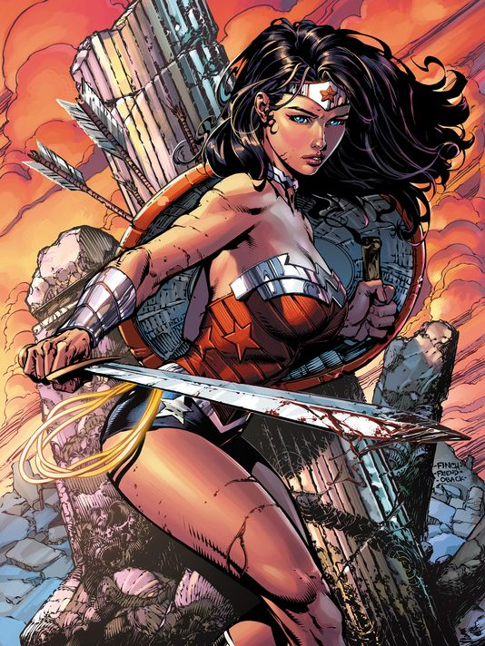 wonder woman finch