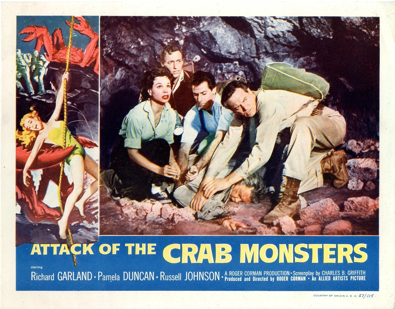Attack of the Crab Monsters (1957) – The Visuals – The ...