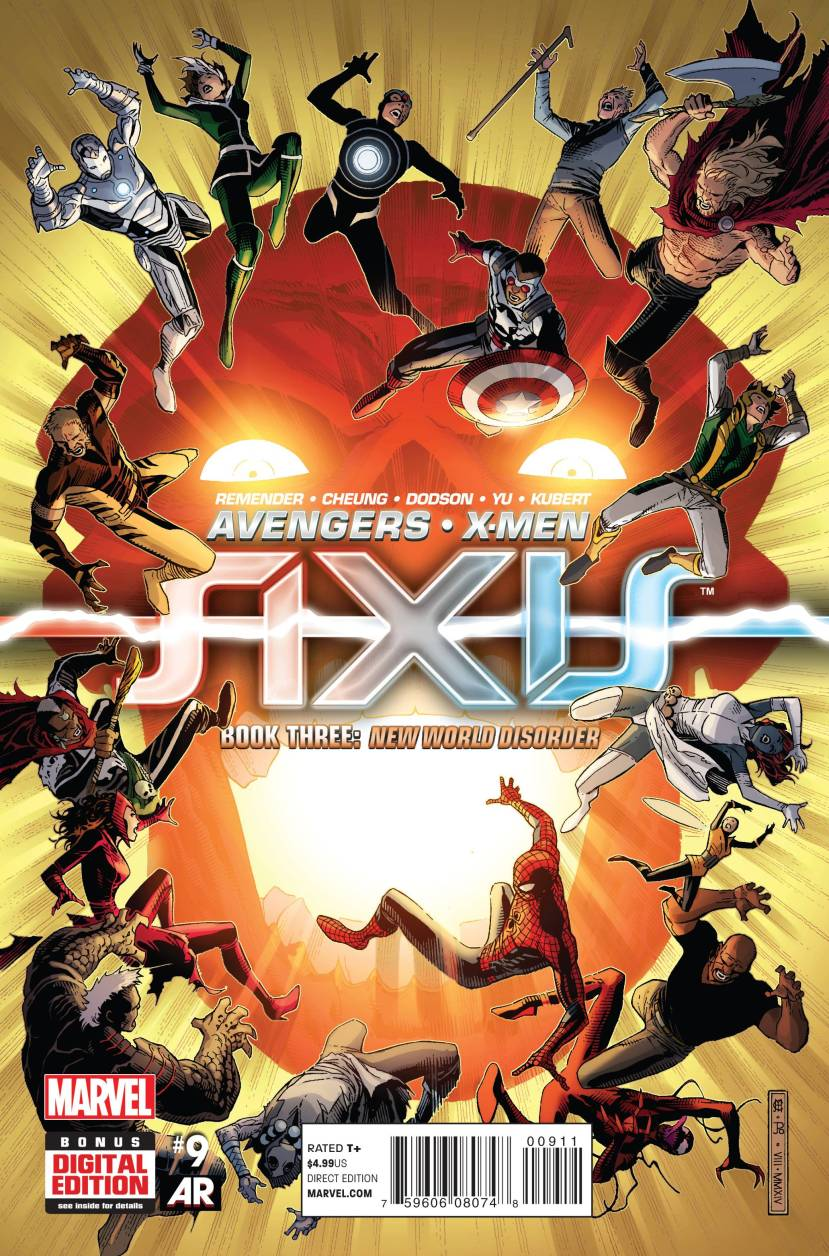 Avengers & X-Men AXIS #9