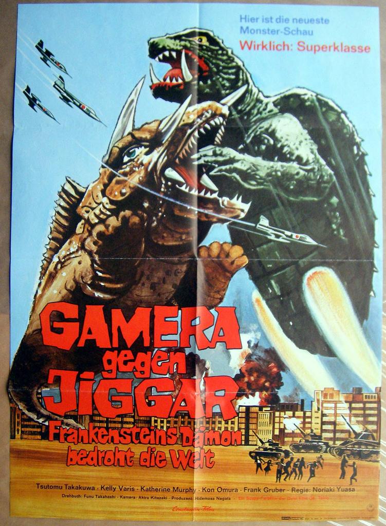 Gamera vs. Jiger (1970...