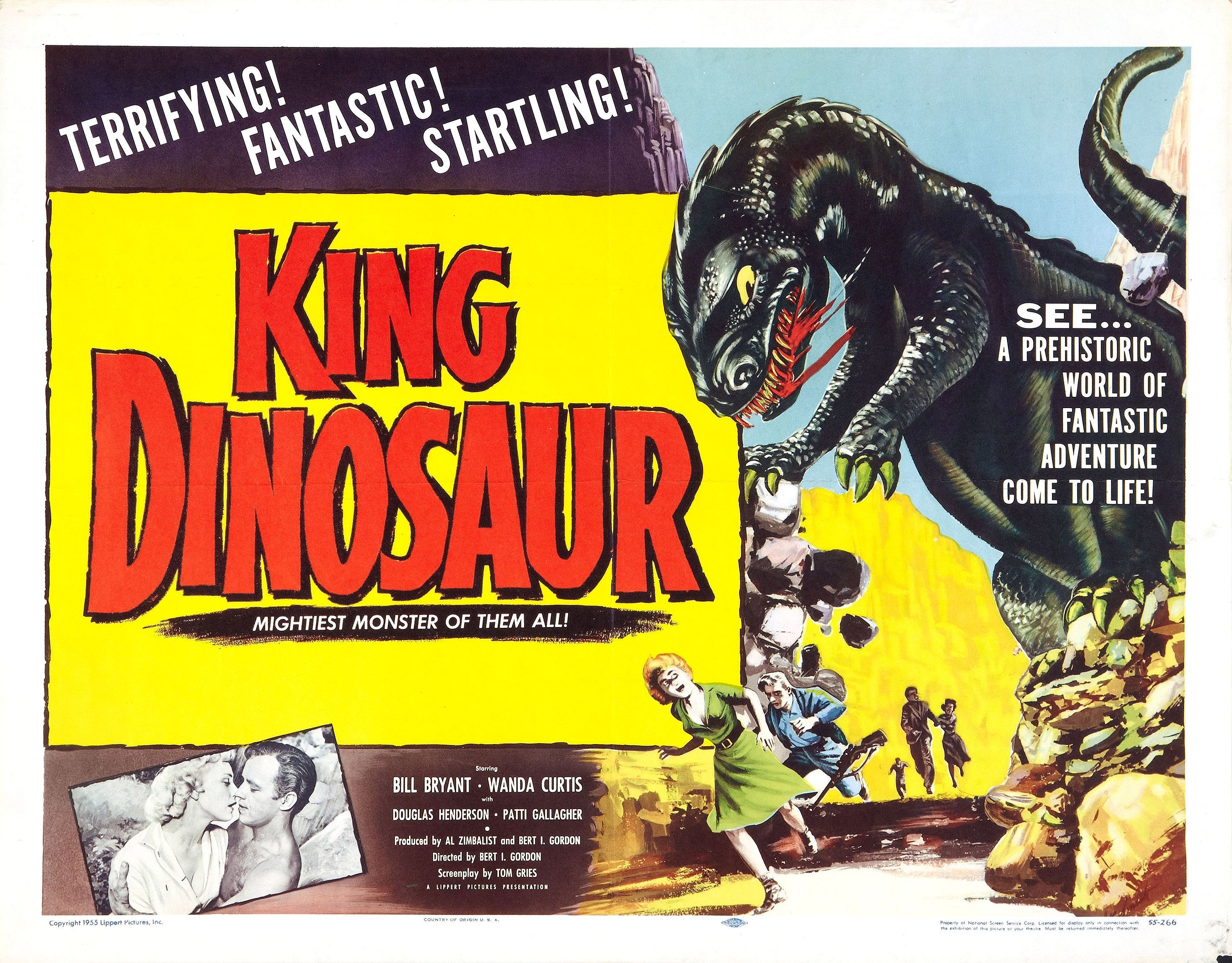 King dinosaur 1955 the visuals the telltale mind - Dinosaure king ...