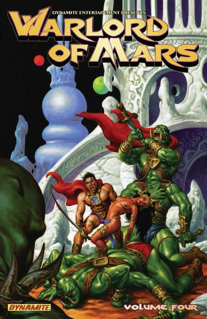 Warlord of Mars Volume 4