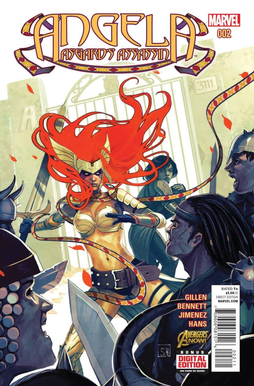 Angela Asgard's Assassin #2