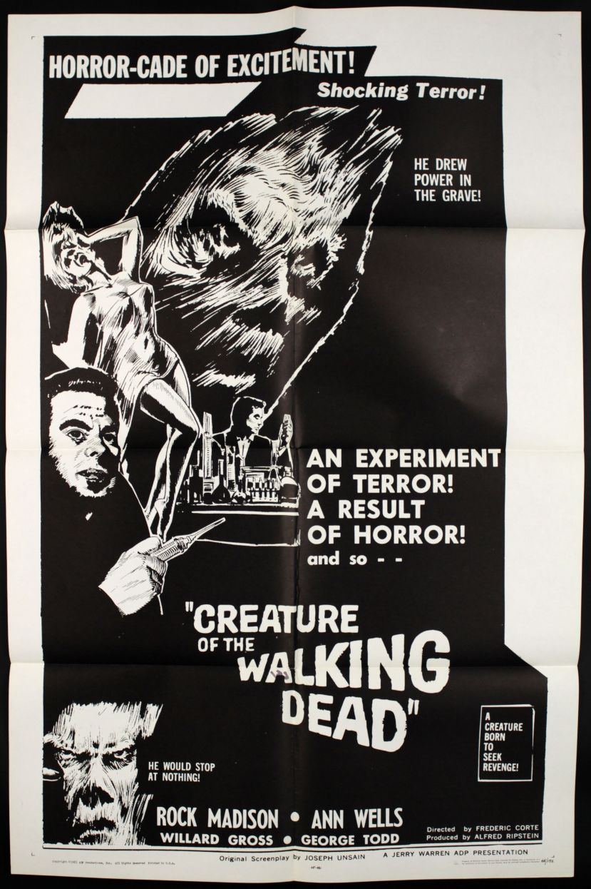 Creature of the Walking Dead (1965)