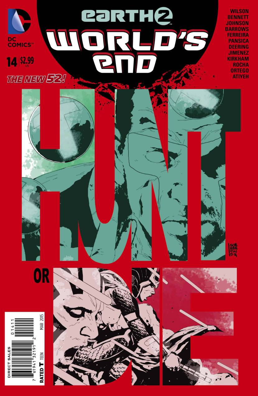 Earth 2 World's End #14