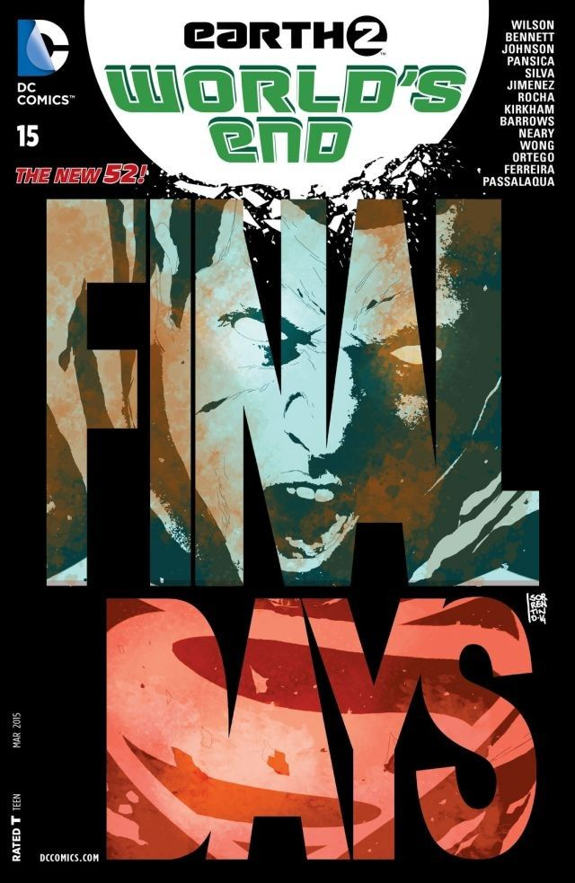 Earth 2 World's End #15