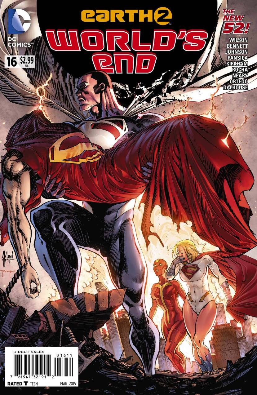 Earth 2 World's End #16