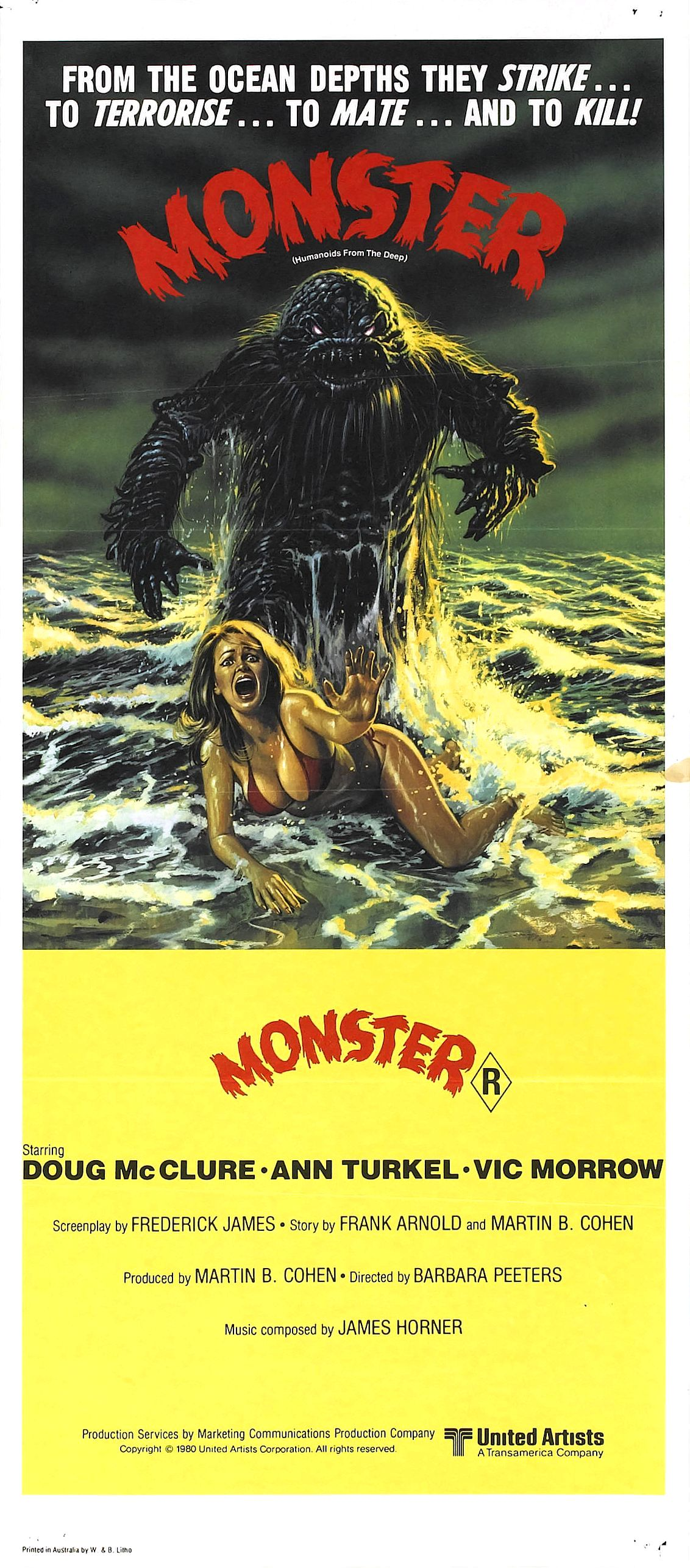 humanoids from the deep movie poster