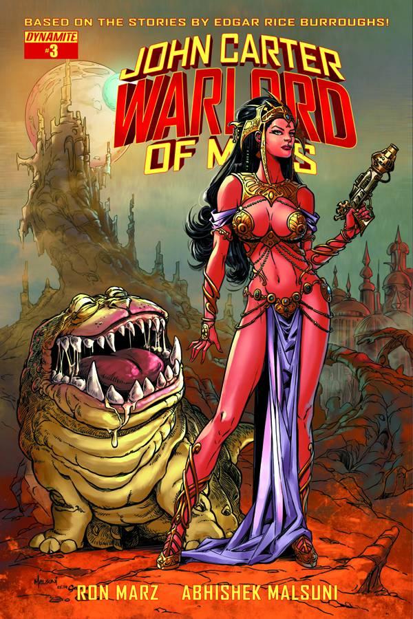John Carter Warlord of Mars #3