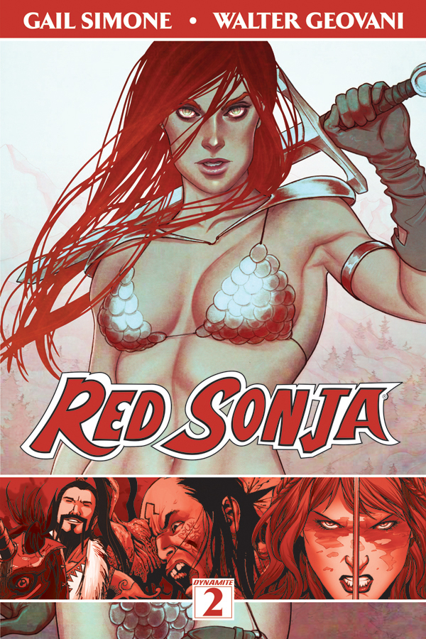 Red Sonja Volume 2 The Art of Blood and Fire
