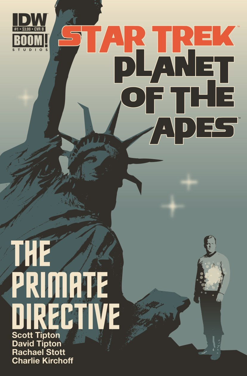 Star Trek Planet of the Apes The Primate Directive #1