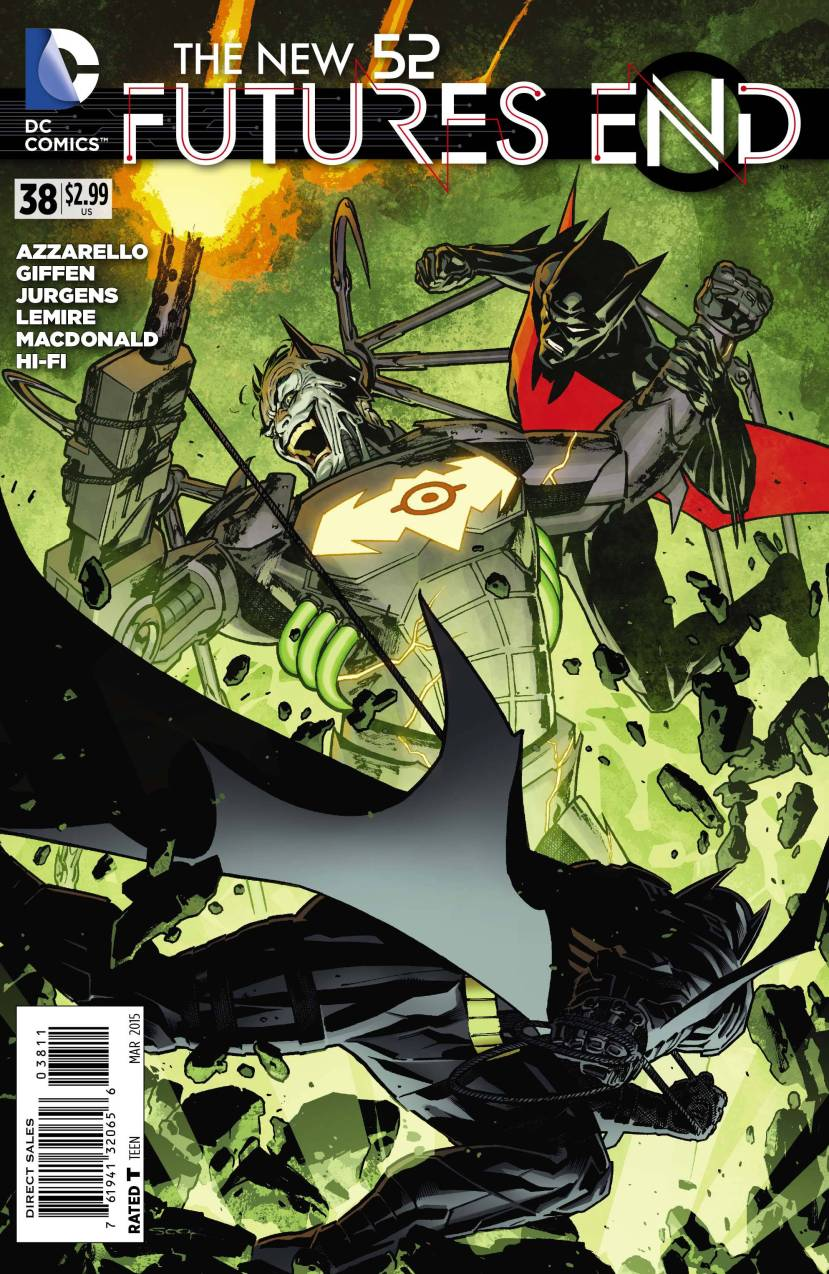 The New 52 Futures End #38