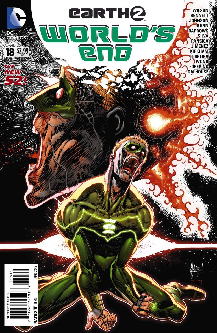 Earth 2 World's End #18