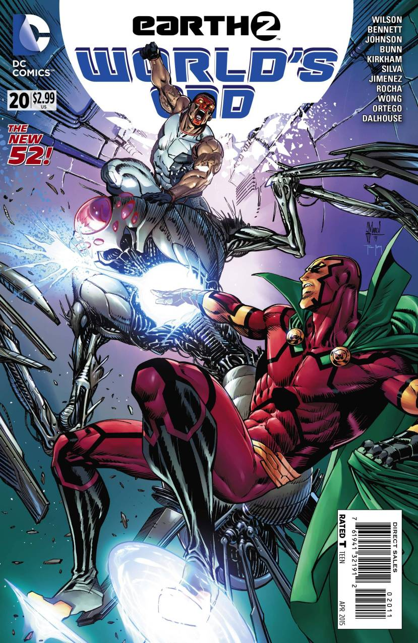 Earth 2 World's End #20