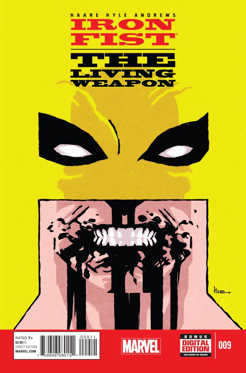 Iron Fist The Living Weapon #9