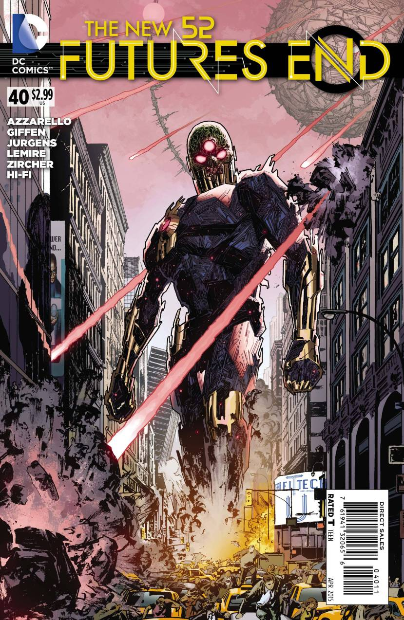 The New 52 Futures End #40
