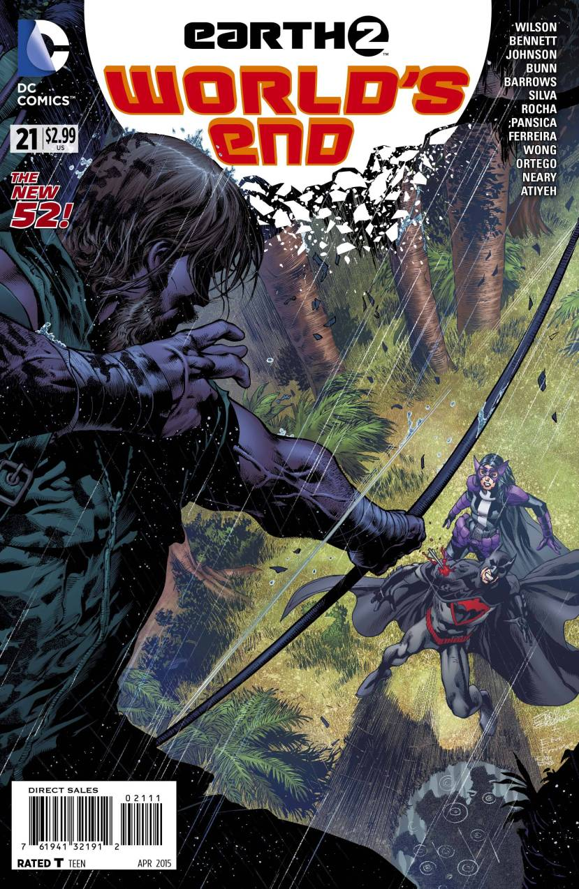 Earth 2 World's End #21