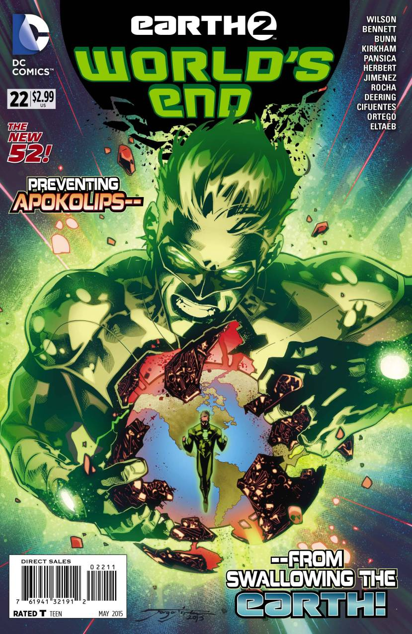 Earth 2 World's End #22