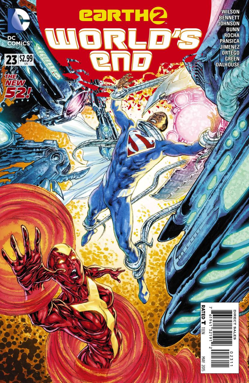 Earth 2 World's End #23
